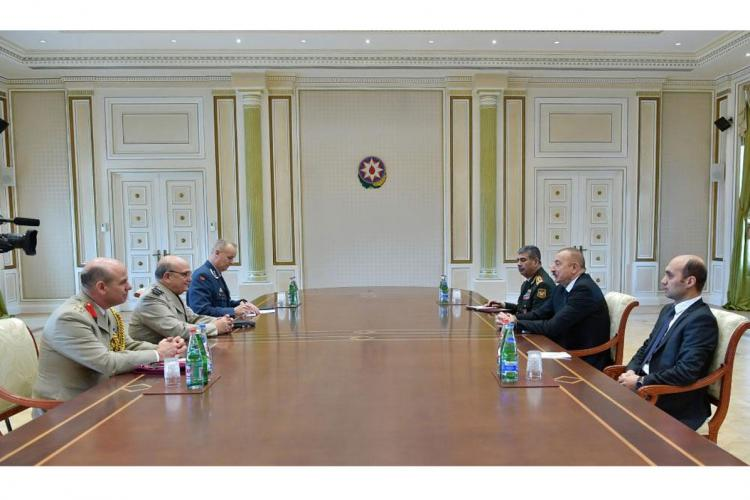 President Aliyev: We feel proud that NATO and Russia have chosen Azerbaijan as venue for meeting